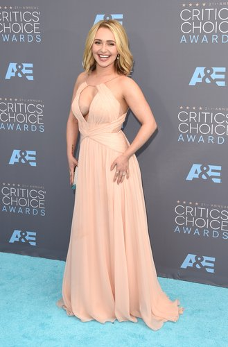 Hayden Panettiere at this year's Critics Choice Awards.