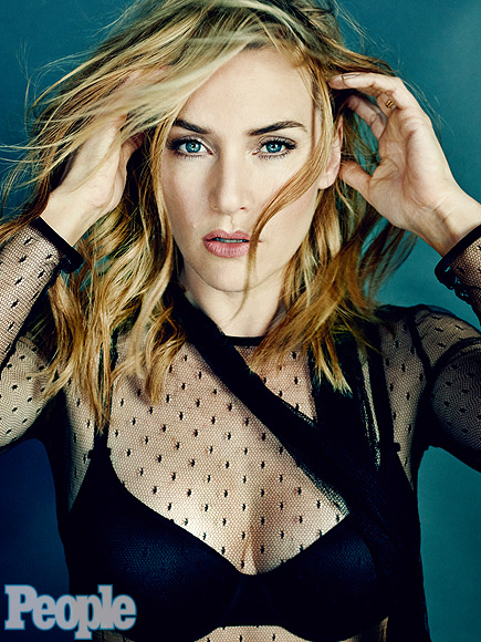 Kate Winslet for People magazine.