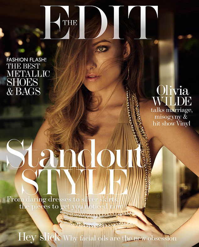 Olivia Wilde for the latest edition of the online magazine The EDIT.