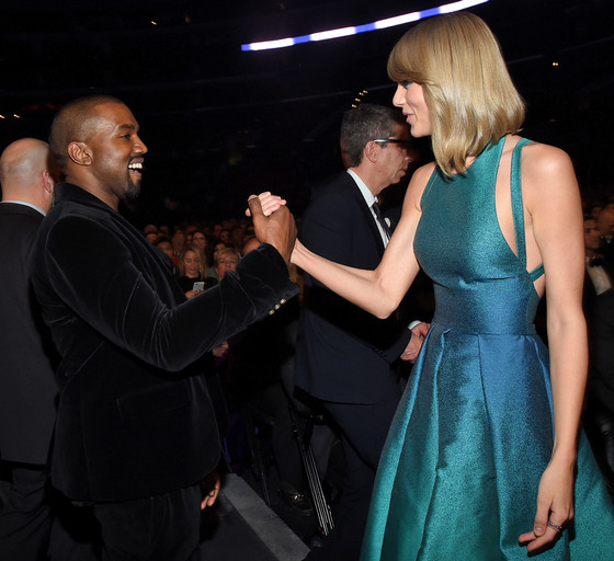 Taylor Swift and Kanye West's during last year's Video Music Awards.