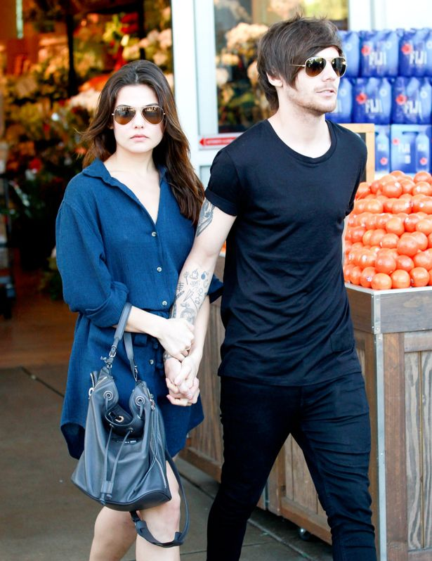 Danielle Campbell and Louis Tomlinson spotted over the weekend in Beverly Hills.