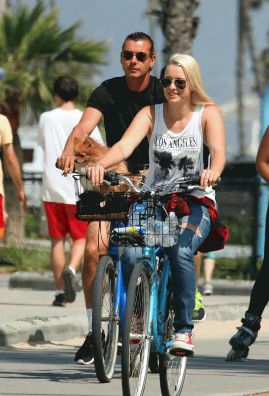 Gavin Rossdale and Mindy Mann in an undated photo.