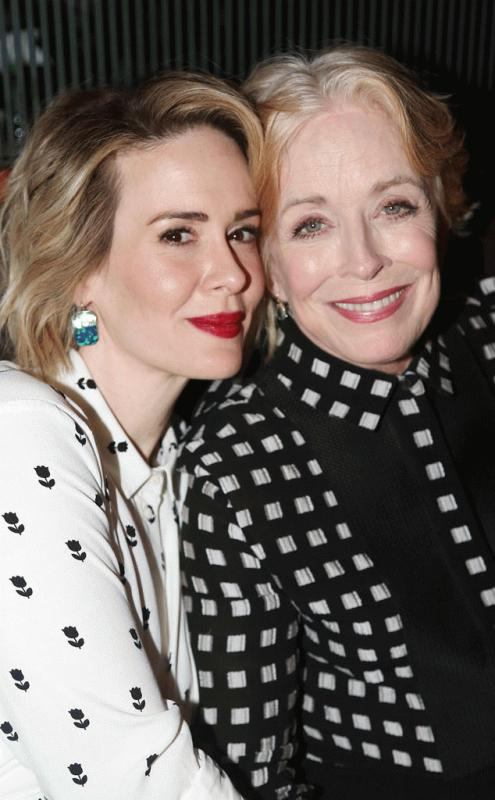 Sarah Paulson and Holland Taylor photographed together in an undated photo.