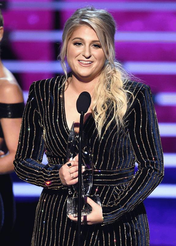 Meghan Trainor at last year's People Choice Awards.