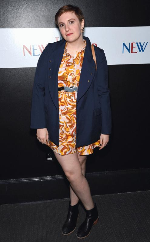 Lena Dunham in an undated photo.