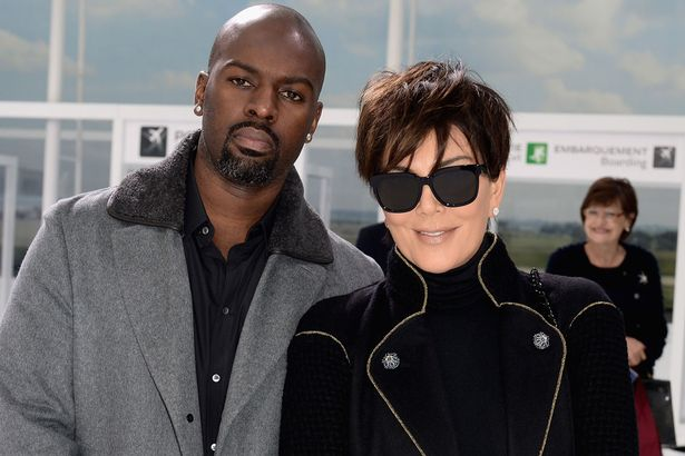 Corey Gamble and Kris Jenner in an undated photo.