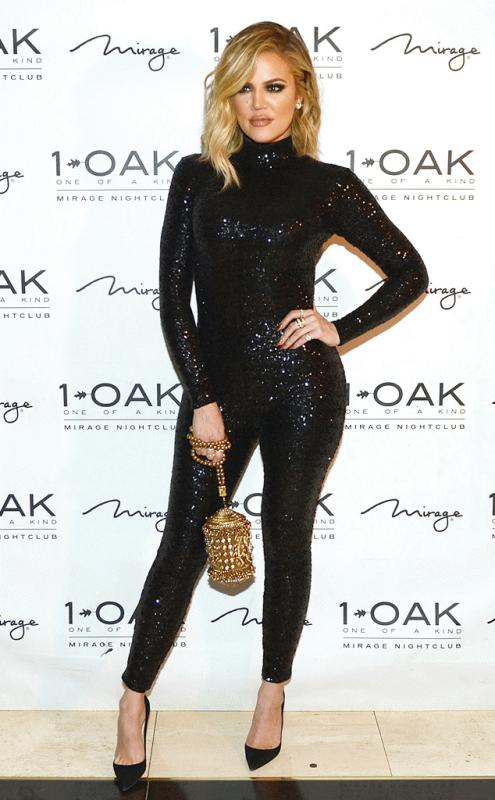 Khloe Kardashian spotted at 1OAK last week as she celebrated the birthday of her twin bestfriends.