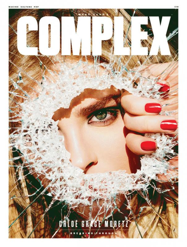 Chloe Grace Moretz for the latest issue of Complex magazine.