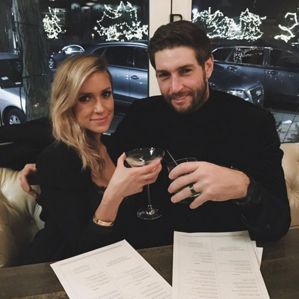 Kristin Cavallari with husband Jay Cutler in an undated photo.