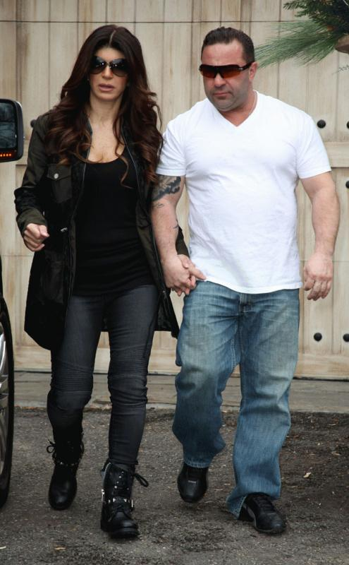 Teresa Giudice and husband Joe photographed together.