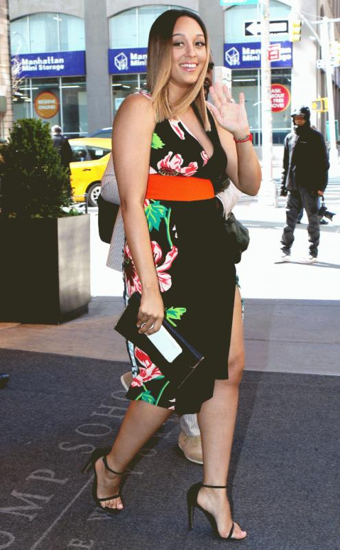 Tia Mowry photographed in New York City.
