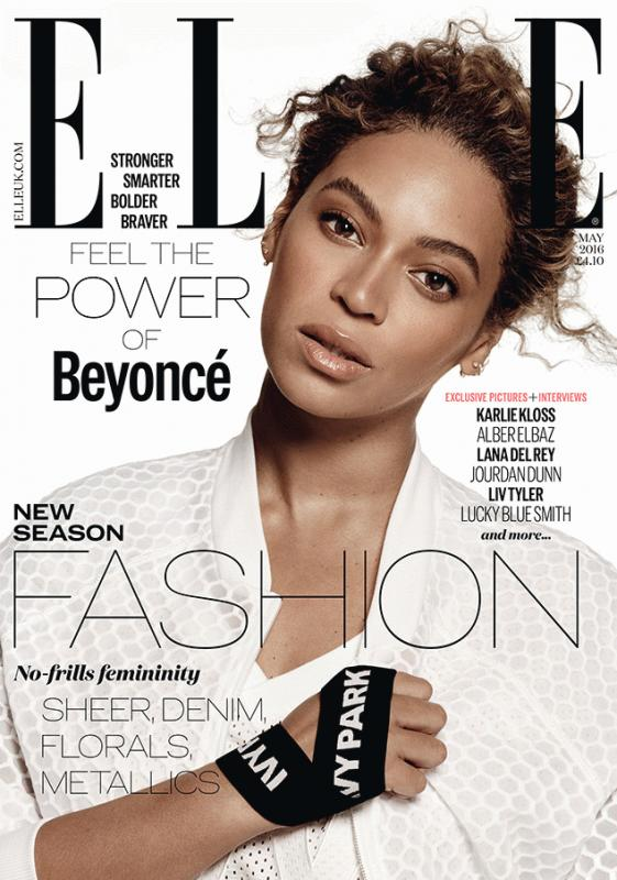 Beyonce for Elle U.K.'s latest edition.