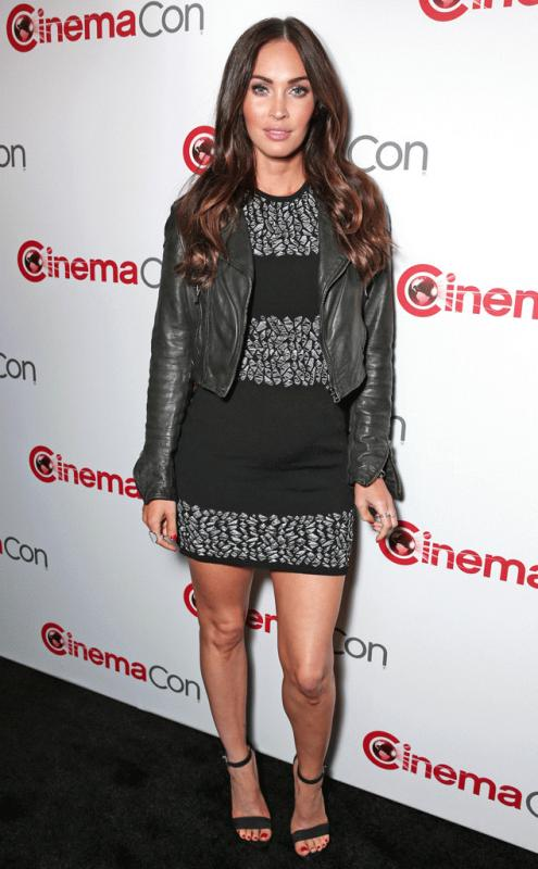 Megan Fox at the CinemaCon.
