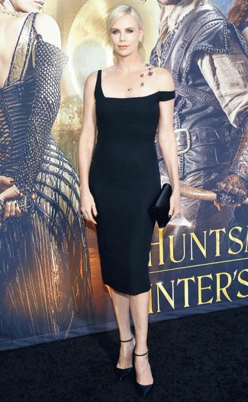 Charlize Theron at the premiere of