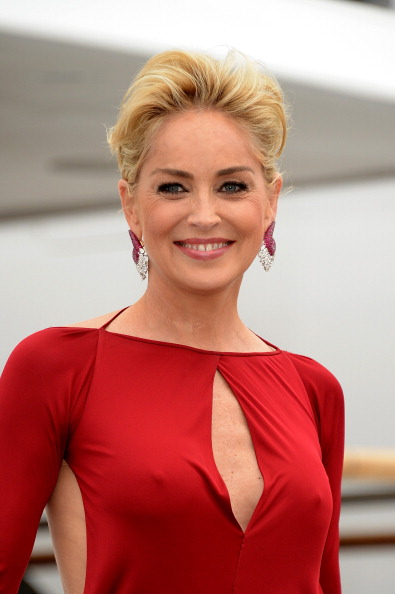 Sharon Stone in an undated photo.