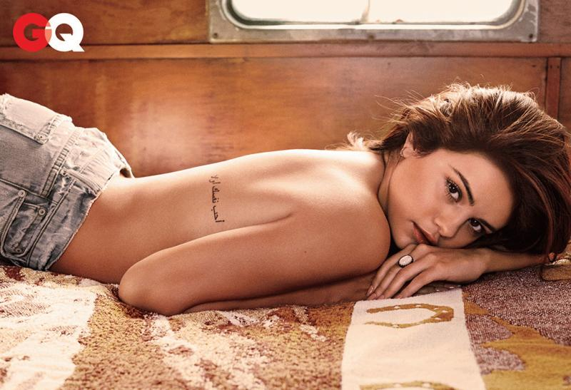 Selena Gomez photographed for the latest issue of GQ magazine.