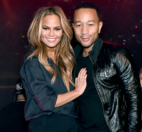 John Legend and Chrissy Teigen in an undated photo.