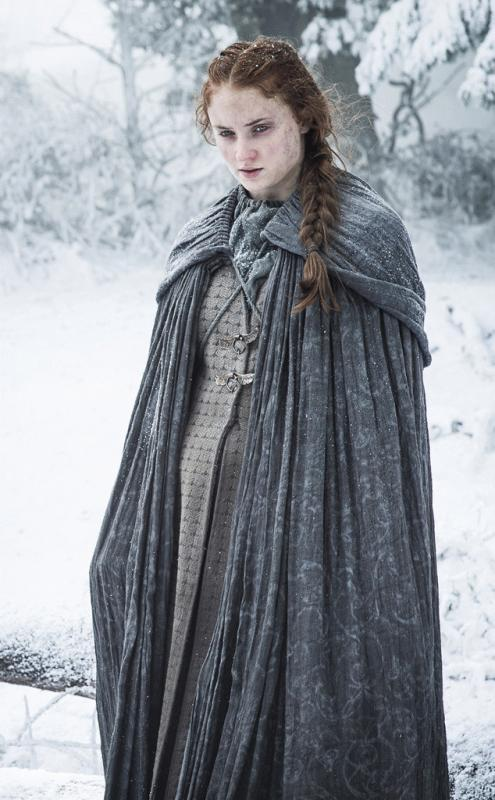 """Sophie Turner as Sansa Stark in a promo photo for the HBO series """"Game of Thrones."""""""