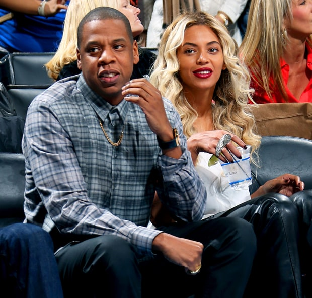 Jay Z and Beyonce in an undated photo.