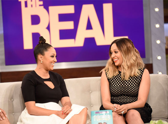 "Tia and Tamera Mowry on ""The Real."""