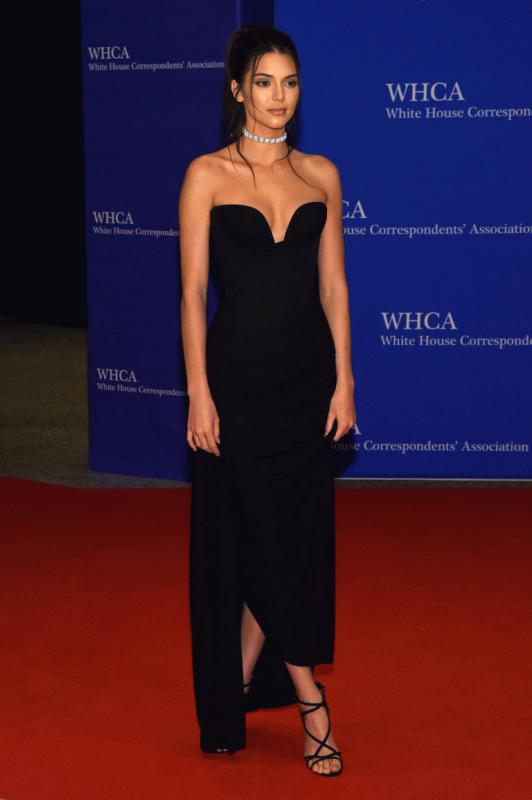 Kendall Jenner at the annual White House Correspondent