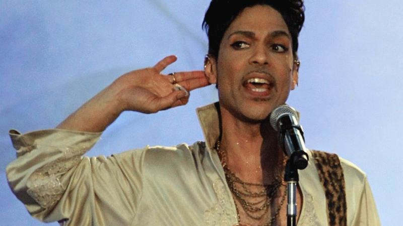 Prince in an undated photo.