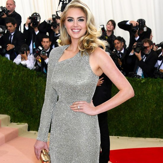 Kate Upton at the red carpet of the 2016 Met Gala.