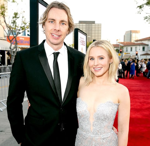 Dax Shepard and wife Kristen Bell in an undated photo.