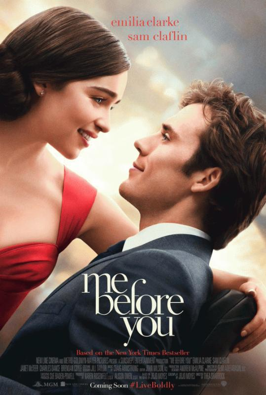 """A promo photo for """"Me Before You."""""""