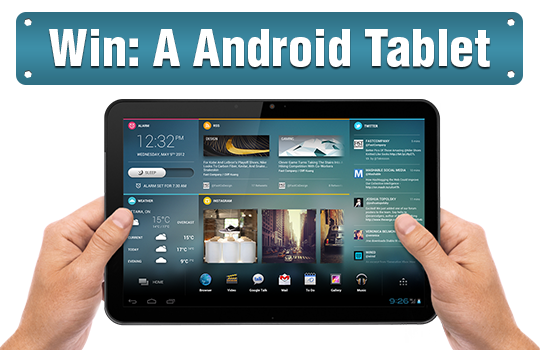 Win A Android Tablet