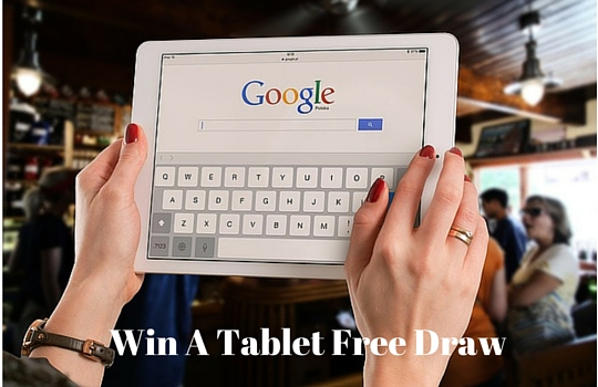 Win A Tablet Free Draw