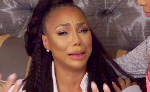 """Tamar Braxton in a sneak peek from their show """"Braxton Family Values"""" as she talks about being fired from """"The Real."""""""