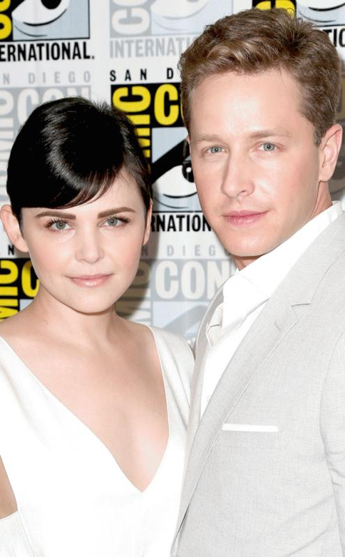 'Once Upon A Time' on-screen and real life couple Ginnifer Goodwin and Josh Dallas in an undated photo.