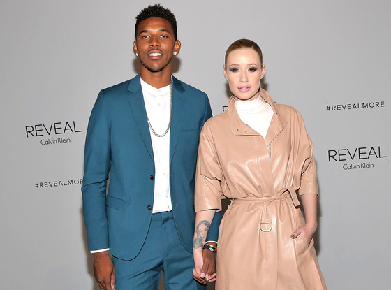 Iggy Azalea and Nick Young in an undated photo.