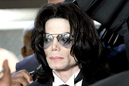Michael Jackson in an undated photo.
