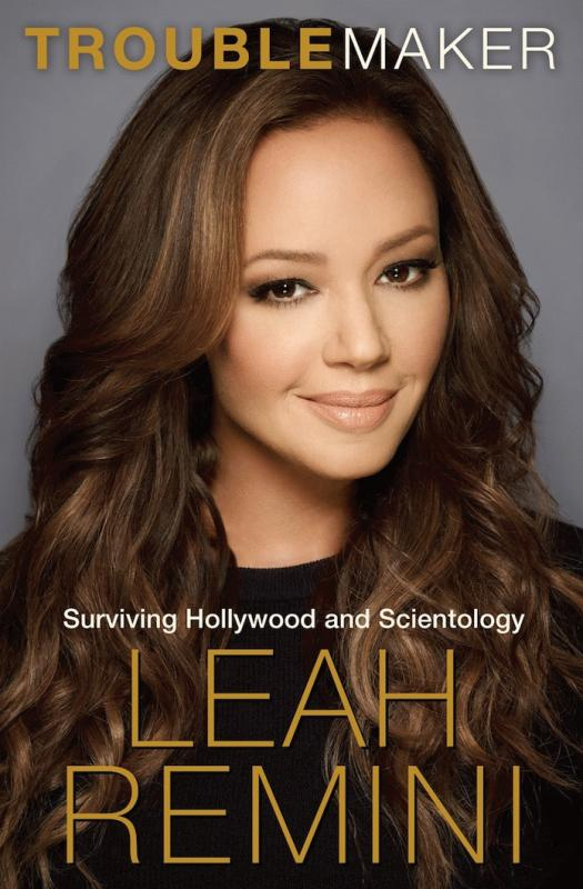 "An undated snap showing the cover of Leah Remini's memoir ""Troublemaker."""
