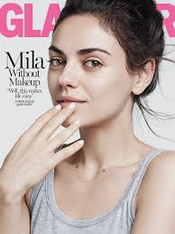 Mila Kunis graced the latest cover of Glamour magazine.