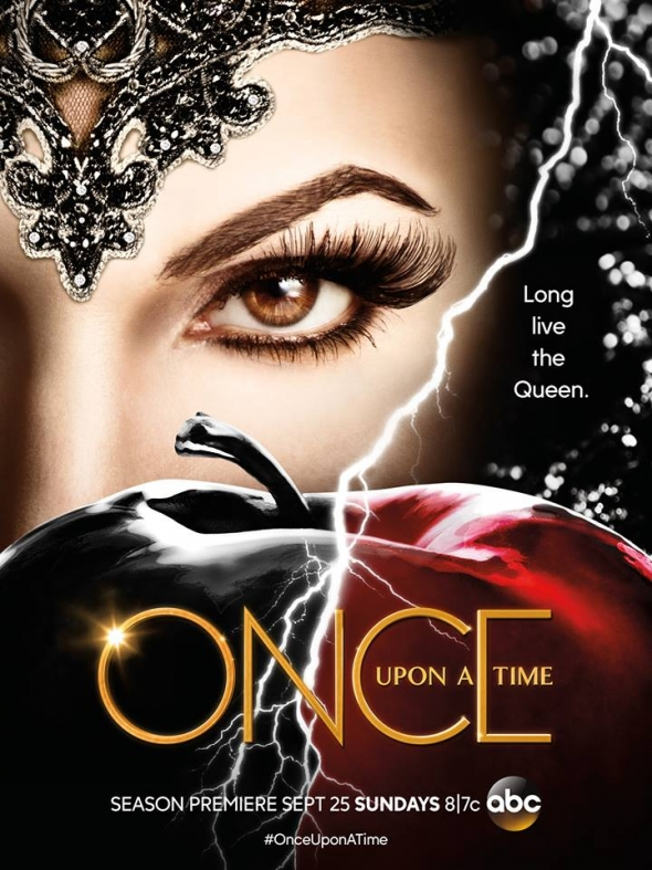 "A promo photo showing the Evil Queen for ""Once Upon A Time"" Season 6."