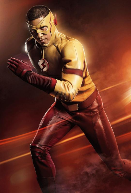 "Keiynan Lonsdale as Kid Flash for ""The Flash"" Season 3."