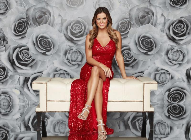 "A promo photo for ""The Bachelorette"" showing JoJo Fletcher."