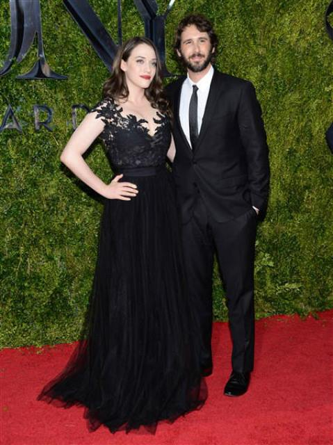 Kat Dennings and Josh Groban in an undated photo.