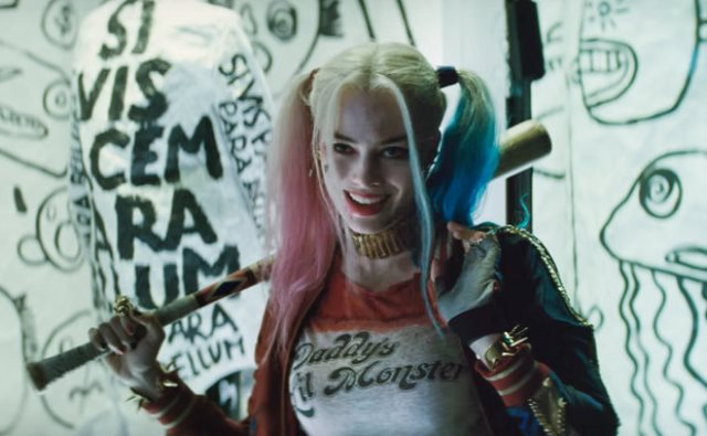 "Margot Robbie in a promo photo for ""Suicide Squad."""