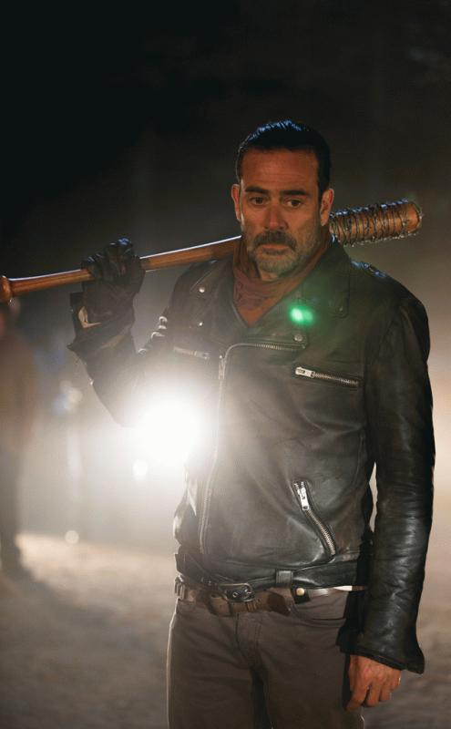 "Negan shown in a promo photo for ""The Walking Dead"" Season 7."