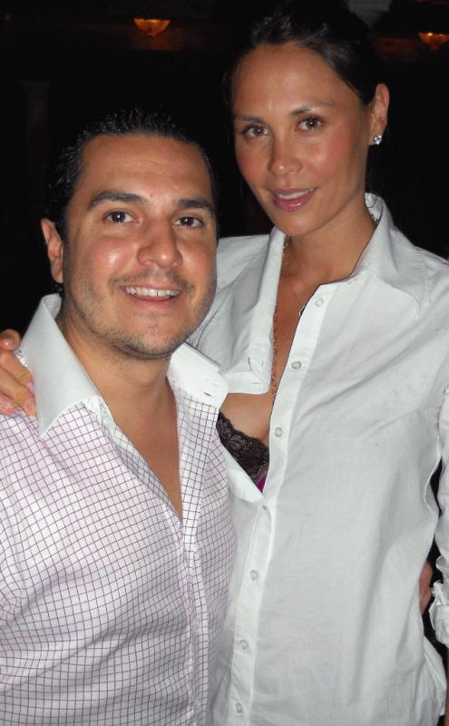Jules Wainstein and her husband Michael in an undated photo.