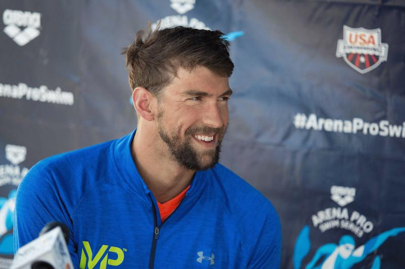 Michael Phelps in an undated photo.