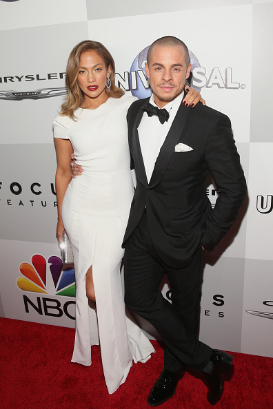 Jennifer Lopez and Casper Smart in an undated photo.