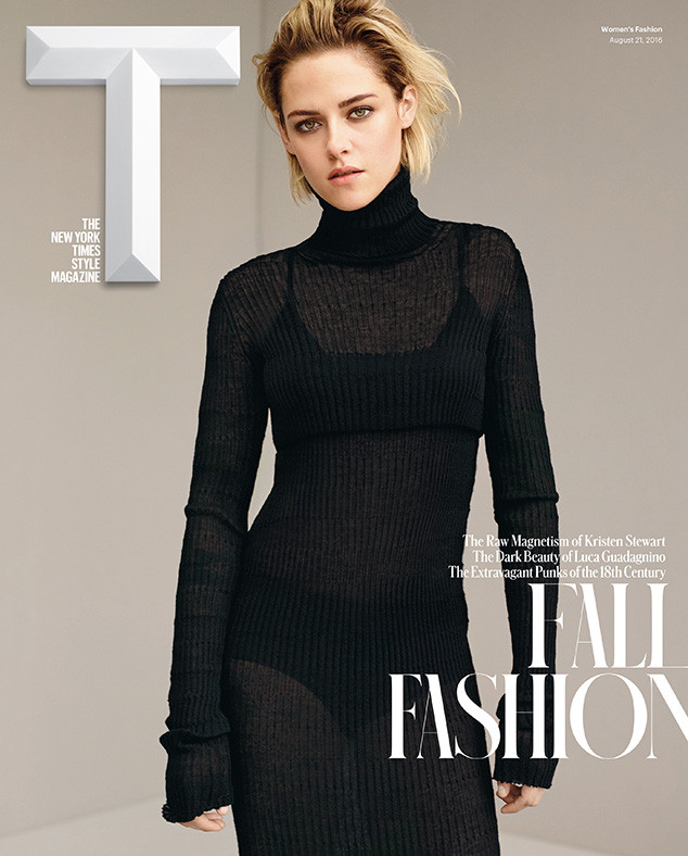 Kristen Stewart for T magazine's latest issue.