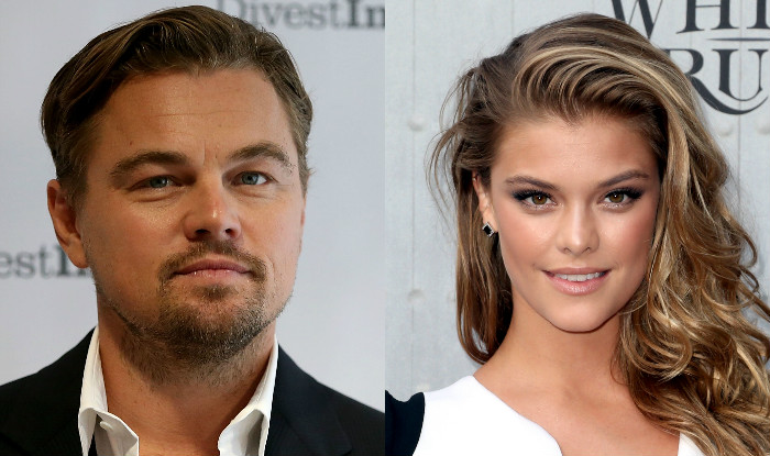 Leonardo DiCaprio and girlfriend Nina Agdal in an undated photo.