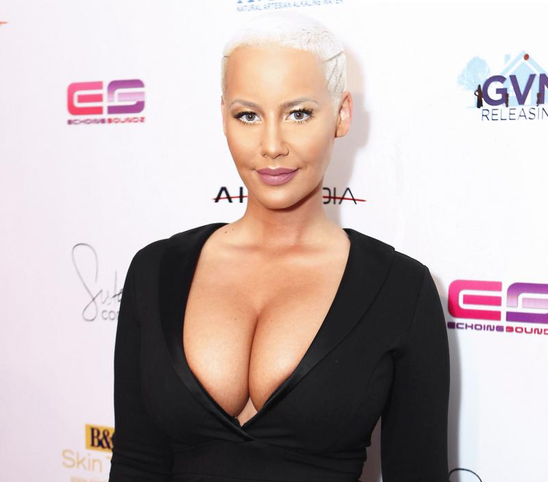 Amber Rose in an undated photo.