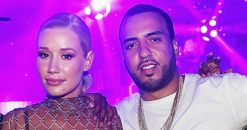 French Montana and Iggy Azalea in an undated photo.